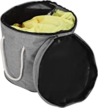 Toy Storage Bag Foldable Household Kids Drawstring Play Mat Baskets Storage Container Collapsible Canvas Storage Bag Toy O...