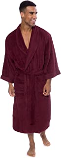 Texere Men's Luxury Terry Cloth Bathrobe - Soft Spa Robe...