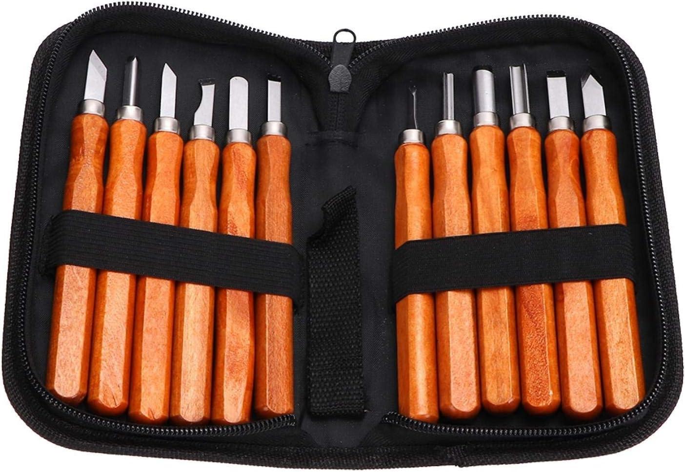 12Pcs Max 75% OFF Set Wood Directly managed store Carving Cutter Carvi Imitation kit Mahogany