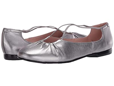 Taryn Rose Alessandra by Taryn Rose Collection (Gunmetal Metallic Nappa) Women