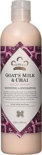 Nubian Heritage Body Wash, Goats Milk and Chai, 13 Fluid Ounce