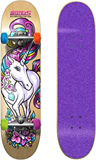 girl skateboards pink