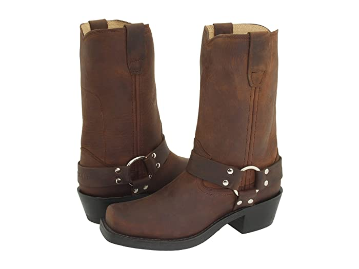 Durango  RD594 (Gaucho Distress Leather) Womens Pull-on Boots