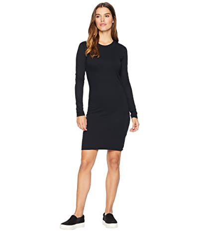 Hurley Dri-FIT Long Sleeve Dress (Black) Women