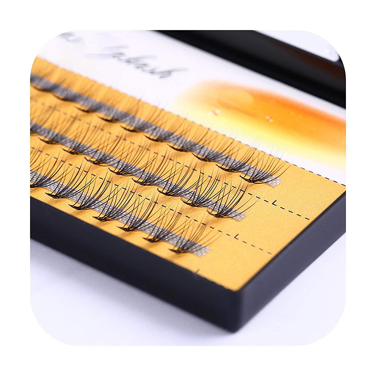 流いちゃつく権限個別まつげナチュラルつけまつげソフト個別まつげ手作り3D偽まつげエクステンション60バンドル/ボックス,0.10mm,13mm