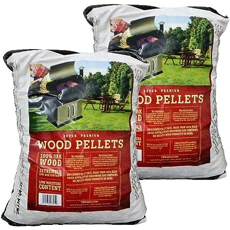 Z GRILLS ZPG-450A Wood Pellet Grill & Smoker 6 in 1 BBQ Grill Auto Temperature Control, 2 Packs 20 Lb Oak