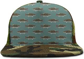 Feathers Leaves Design Baseball Caps Snapback Trucker Hats Snapbacks