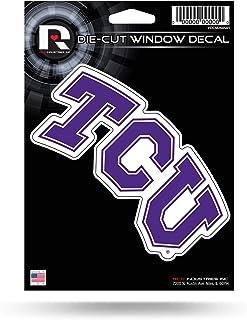 ملصق من الفينيل المقطوع بالقالب عليه صورة ضفادع من NCAA TCU Horned Frogs