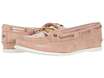 Sperry A/O Skimmer Starlight Leather (Blush) Women