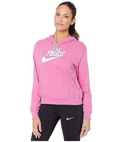 Nike NSW Gym Vintage Hoodie HBR (Cosmic Fuchsia/Sail) Women