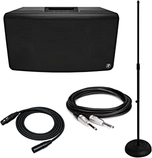 Mackie FreePlay Live Personal Bluetooth PA System with Stand, XLR Cable and 6 Foot TRS Patch Cable
