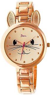 Boum Hotesse Bunny Rabbit Face Dial Quartz Watch