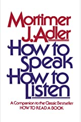 How to Speak How to Listen Kindle Edition