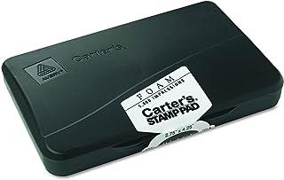 وسادة طوابع إسفنجية من Avery Carters، 6.9 سم × 10.7 سم، أسود، وسادة واحدة (21381)
