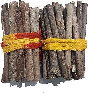 Hind Home Pooja SAMAGRI HAVAN SAMITHU/HAVAN FIRE Wood/Mango Wood/AAM KI LAKDI 3 Sets