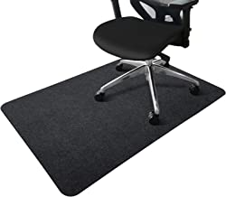 """Office Chair Mat, Opaque Hard-Floor Mat for Office Home, 0.16"""" Thick Multi-Purpose Low Pile Desk Chair Mat for Hardwood Fl..."""
