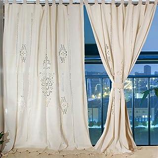 OurWarm blackout cortinas opacas con ojales lino visillos