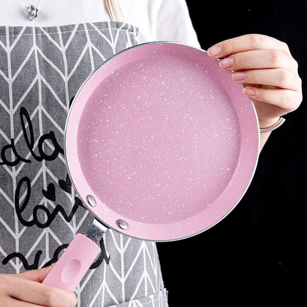 LGFSG Poêle à Frire Poêle à Frire Pizza crêpes poêle antiadhésive poêle en Aluminium poêle à Steak poêle à gaz cuisinière à gaz cuisinière à Induction, 20 cm 20cm
