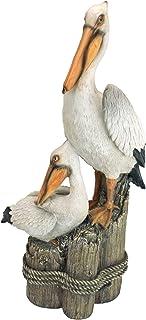 Design Toscano QL56458 Ocean's Perch Pelican Statue
