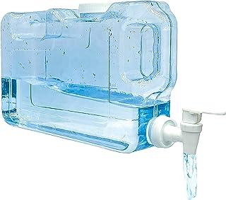 Distributeur d'eau froide pour réfrigérateur.4,2 litres. Bouteille en plastique PETG réutilisable avec robinet. Fontaine d...