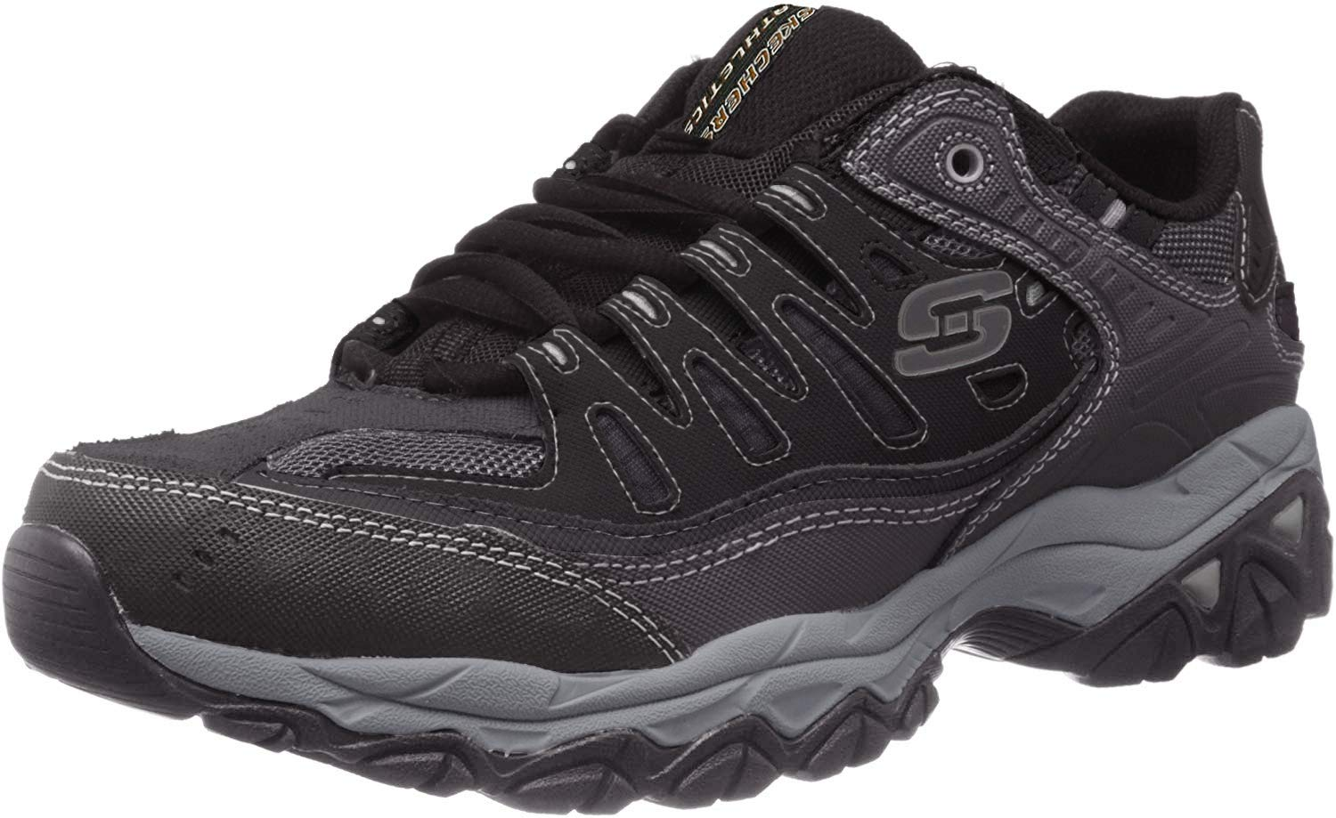 Skechers AFTER BURN M FIT Memory Lace Up Sneaker