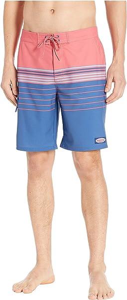 Stripe Stretch Boardshorts