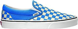 バンズ スニーカー メンズ クラシックスリッポン USA規格 限定カラー VANS CLASSIC SLIP-ON CHECKERBOARD NEBULAS BLUE/TRUE WHITE VN0A4BV31GB 26.5cm