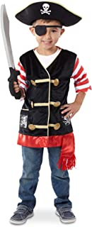 Melissa & Doug 4848 Pirate Role Play Costume Dress-Up Set with Hat, Sword, and Eye Patch