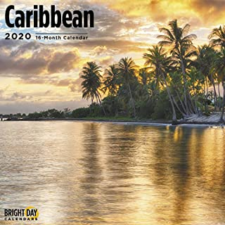 2020 Caribbean 16 Month 12 x 12 Wall Calendar by Bright Day Calendars (Islands Collection Wall Calendars)