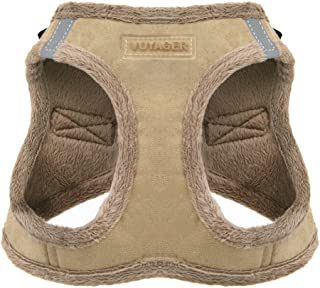 Voyager Step-in Plush Dog Harness – Soft Plush, Step in Vest Harness for Small and Medium Dogs – by Best Pet Supplies - La...