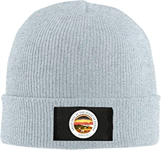 NTJPMY Unisex Seal of Kansas Fashion Warm Knit Plain Beanie Hats Skull Caps
