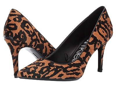 Calvin Klein Gayle Pump (Natural Haircalf/Sheep) High Heels
