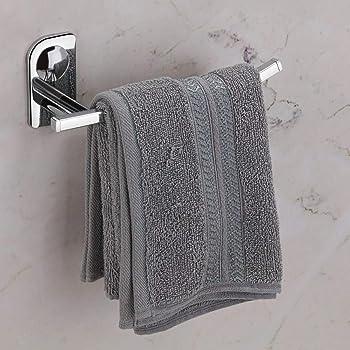 PlantexDream High Grade Stainless Steel Napkin Ring/Towel Ring/Napkin Holder/Towel Hanger/Bathroom Accessories (Chrome) - Pack of 1