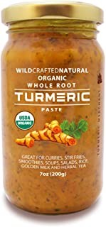 Whole Root Organic Turmeric Paste 7 Ounces