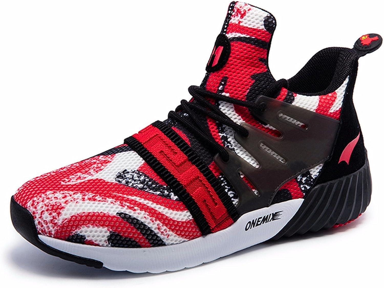 ONEMIX Men's Mid-Top One-Body Sneakers