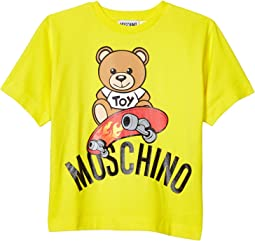 Short Sleeve Tee Bear on Skate Board (Little Kids/Big Kids)