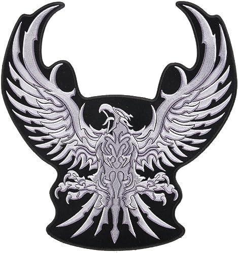 Embleme argent Eagle 2..9.0mmX3.00mm surdiPour des hommesionne