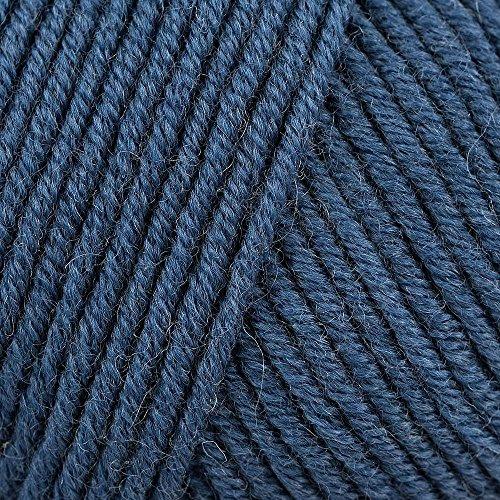 Lang Yarns Merino 120 Superwash 0034 stahlblau
