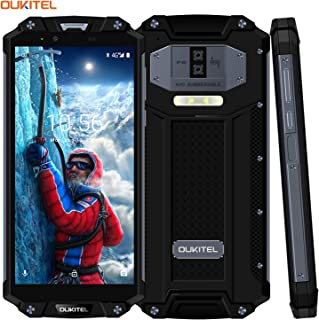 OUKITEL WP2 Rugged Phone, 4GB+64GB, IP68 Waterproof Shockproof Dustproof, Dual Back Cameras, Fingerprint Identification, 10000mAh Battery, 6.0 inch Android 8.0, 4G, NFC(Black)