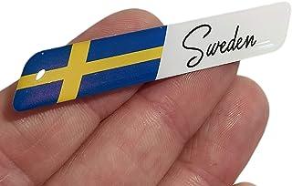 decal arts 3D gel silikon Sverige flagga märke bilpanel kropp självhäftande emblem klistermärke fordon auto inställning em...