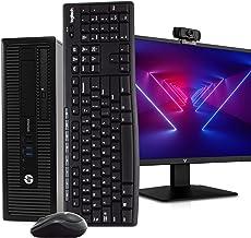 "HP 800 G1 PC Desktop Computer, Intel i5, 16GB RAM 512GB SSD, Windows 10 Pro, New 23.6"" FHD LED Monitor, New 1080p Periphio..."