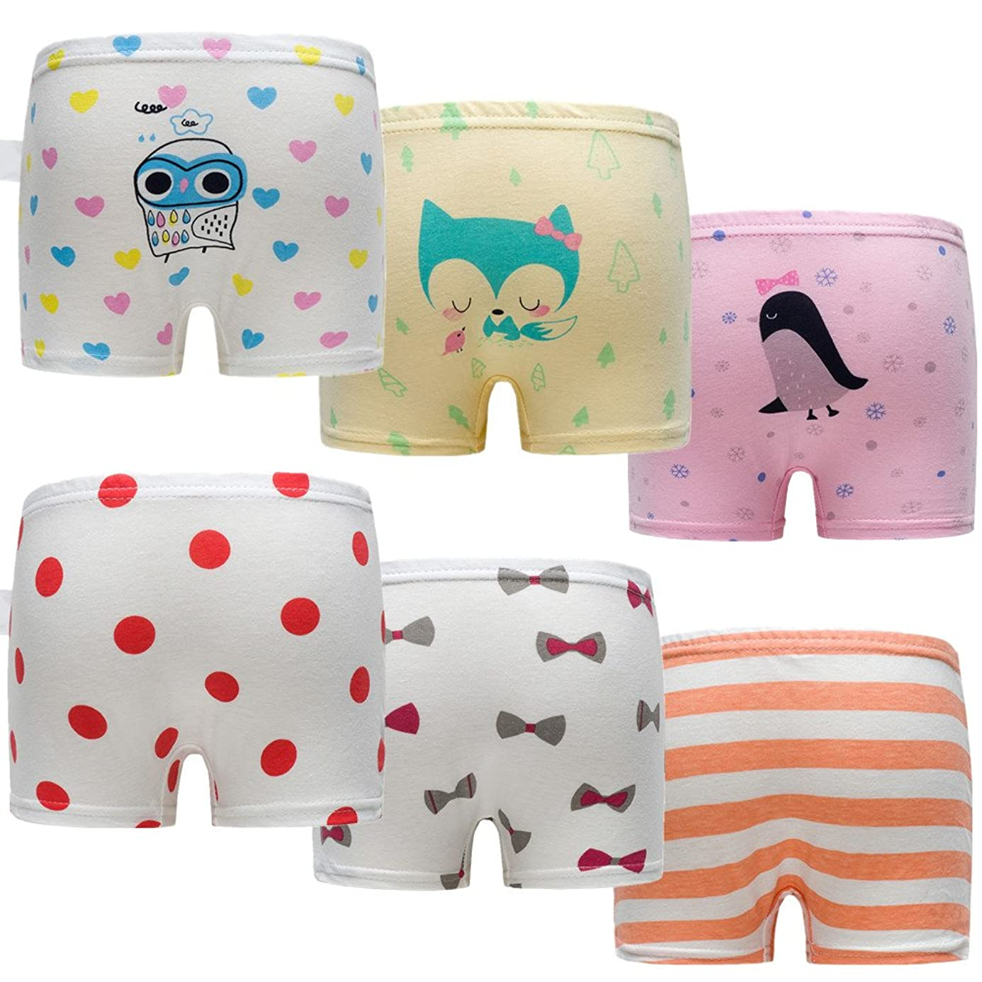 Skhls Baby Girls Cute Briefs Panties Boxers Cotton Underwear,Multi Pack ean7927139