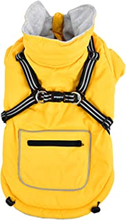 Puppia Mallory Pet Coat, XX-Large, Yellow
