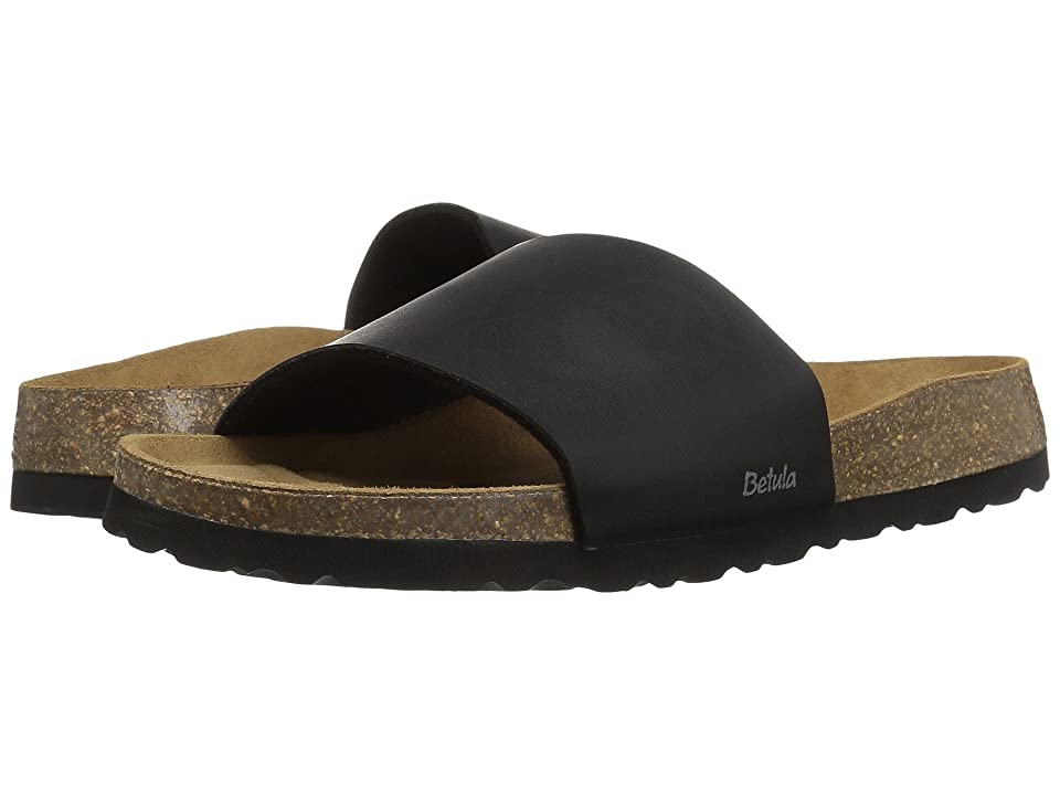 Betula Licensed by Birkenstock Reggae Birko-Flor (Basic Black) Women