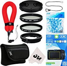 10in1 Accessories Kit for Olympus Tough TG-6 TG-5 TG-4 TG-3: Adapter as CLA-T01+Screen Protector+Camera Case+Wrist Strap+40.5mm UV+CPL Filter+Lens Cap+Cap Keeper+Desiccants Silica Gel+Microfiber Cloth