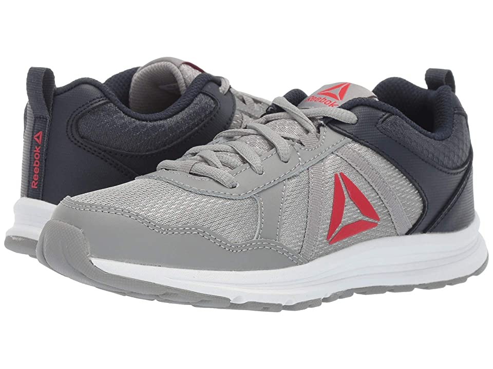 Reebok Kids Almotio 4.0 (Little Kid/Big Kid) (Grey/Navy/Red/White) Boys Shoes