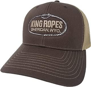 King Ropes 6-Panel Mesh Back Adjustable Snapback Trucker Hat
