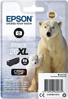 EPSON T263140 XP600-700-800 (26XL) P.BLACK KARTUŞ