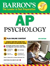 Barron's AP Psychology with Online Tests