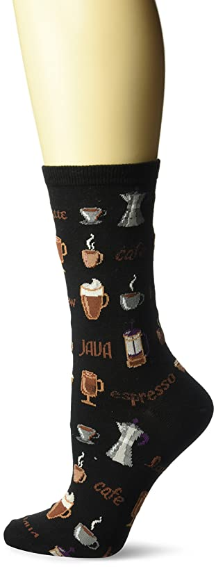 Hot Sox Women's Food and Booze Novelty Casual Crew Socks